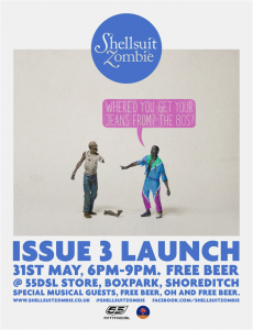 DSl Event Shellsuit Zombie 31st May