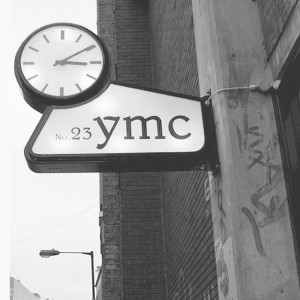 YMC store in focus