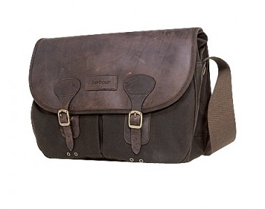 Barbour Waxed Bag