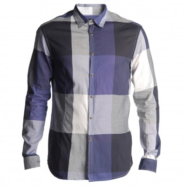 Purple Checked Diesel Shirt