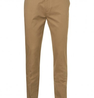 Topman Beige Slim Fit Chinos