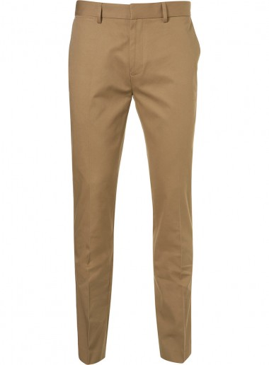 Mustard Twill Chino pant by Topman