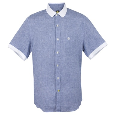 Blue Gingham Shirt by Pretty Green