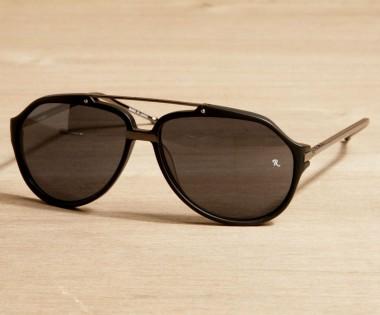 Linda Farrow & Raf Simons Aviator Sunglasses