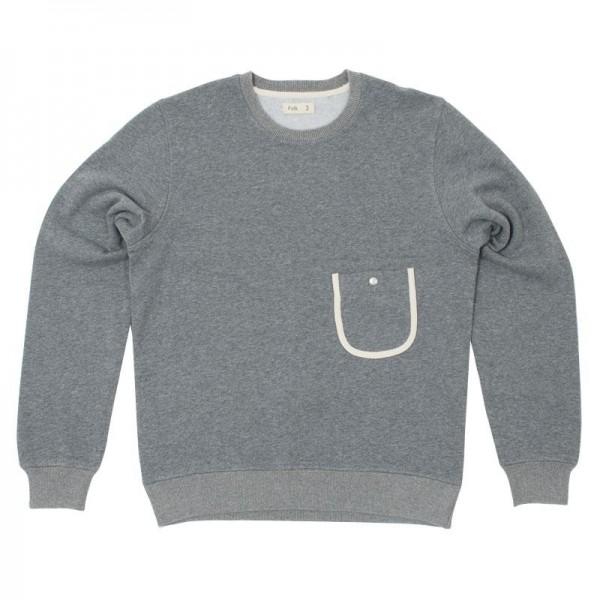 Folk Crew Neck Sweater