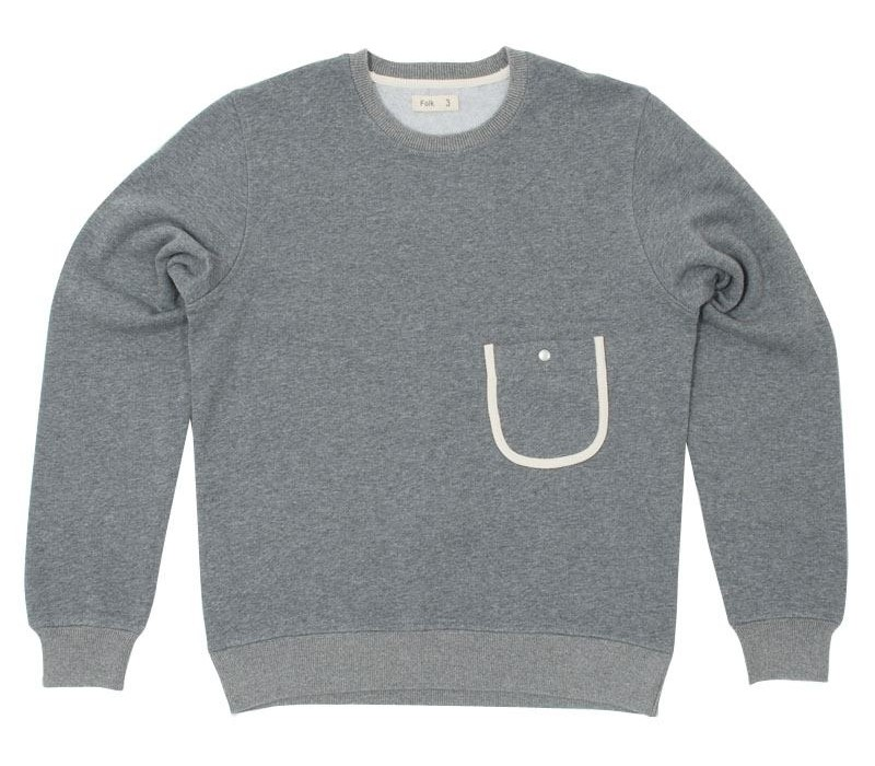 Folk Crew Neck Sweater
