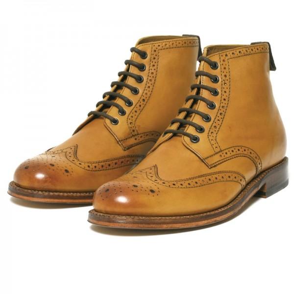 Grenson Sharp Derby Boot Tan
