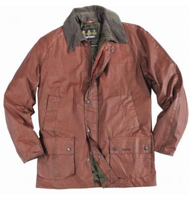 Barbour Mens Distressed Waterproof Jacket