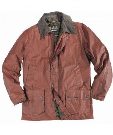 Barbour Mens Distressed Waterproof Jacket