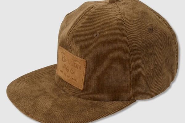 Brixton Clark Corduroy Hat