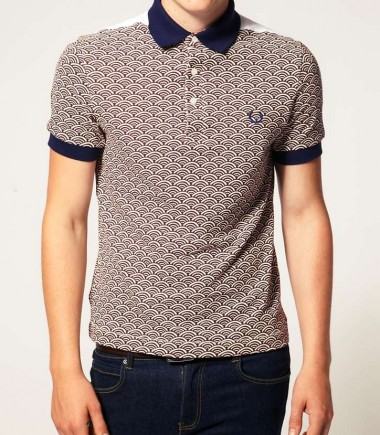 Fred Perry Men's Print Polo shirt