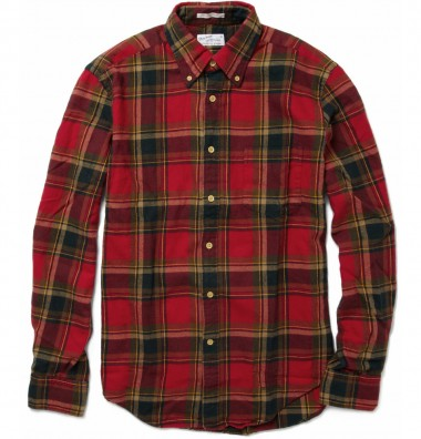 Gant Checked Flannel Shirt