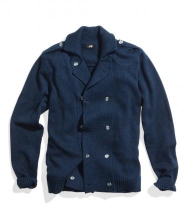 H&M Navy Cardigan