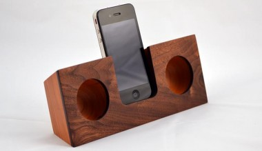 Koostik Cherry & Walnut Speakers