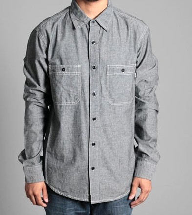 Stussy Chambray work shirt