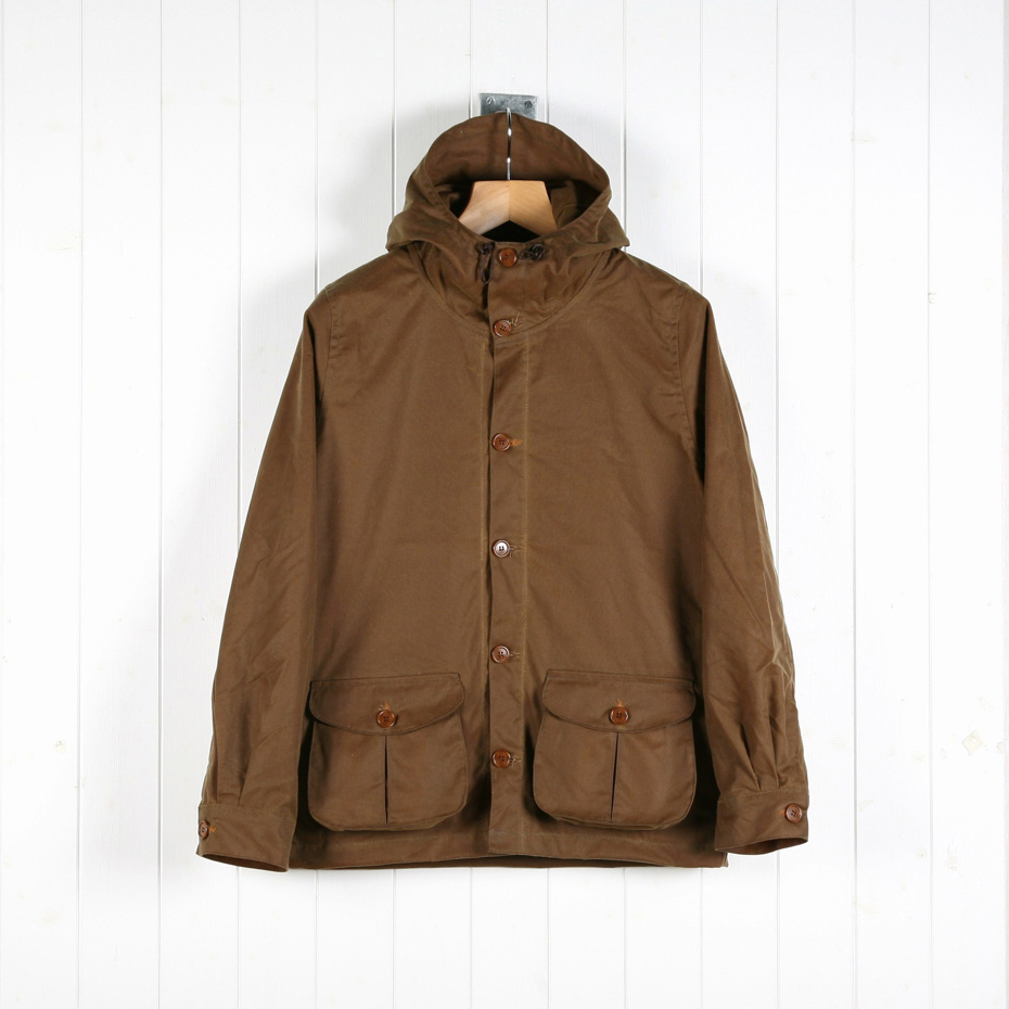 Terrace Production Bellow Pocket Jacket – Tobacco Brown