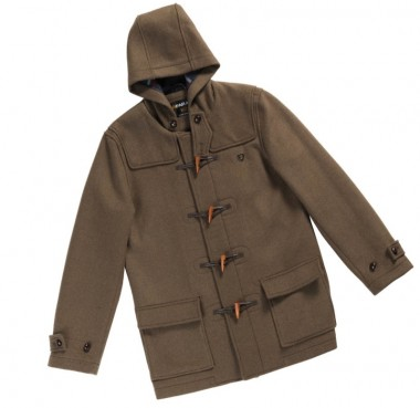 Farah Vintage Hopkins Khaki Duffle Coat