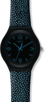 Swatch Blue Drops Watch
