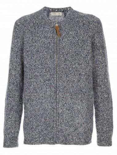 Folk Zip Knitted Cardigan