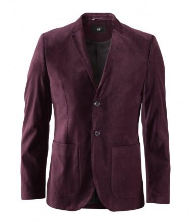 H&M Velvet Blazer Jacket