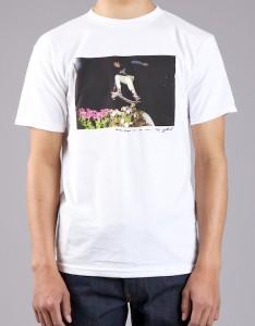 HUF Collaboration white T Shirt