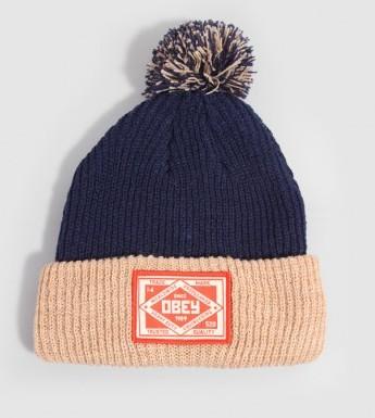 Obey Pom Pom Beanie Hat
