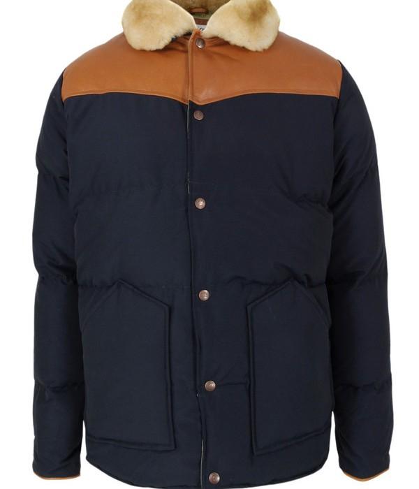 Penfield Mens Rockwool Navy Jacket