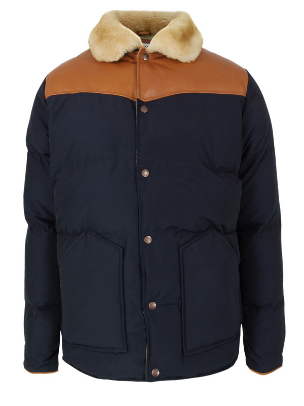 Penfield Navy Padded Jacket