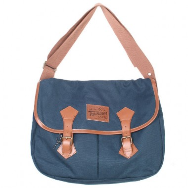 Penfield Navy Satchel