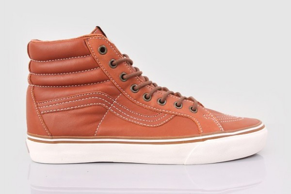 Vans California Tan Leather Boots