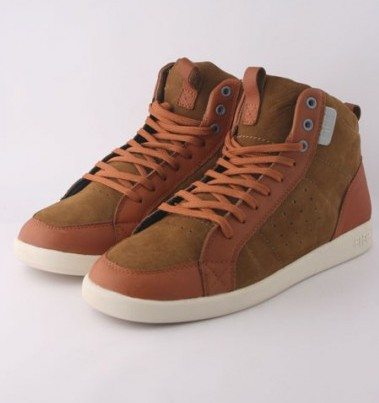 Clae Brown Suede Trainers