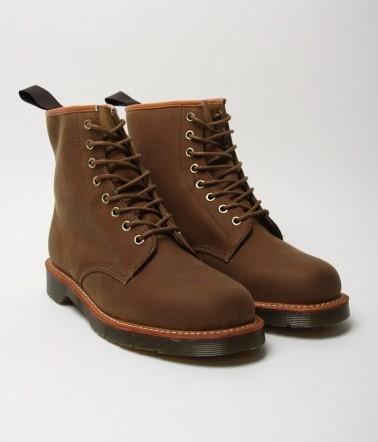 Dr Marten's British Millerain Brown Boots