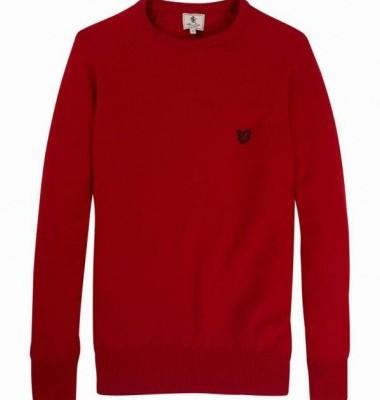 Lyle & Scott Lambswool Red Sweater