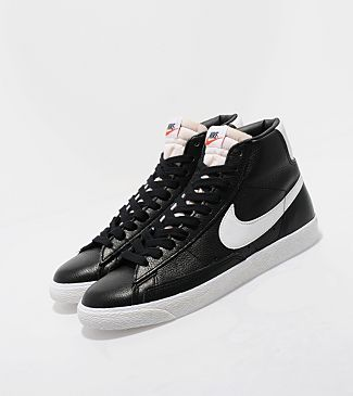 leather nike blazer high tops