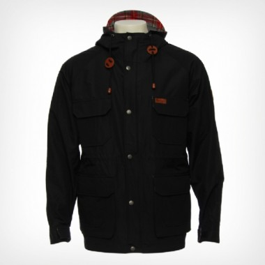 Penfield Black Parka