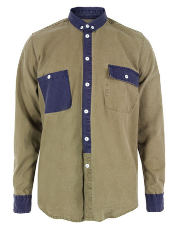 Rascals Mens Army Shirt