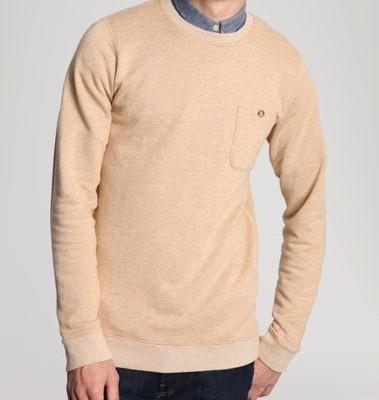 Shore Leave Mustard Sweatshirt