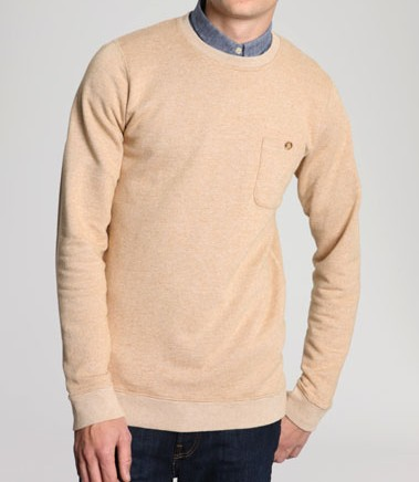 Shore Leave Mustard Sweatshirt