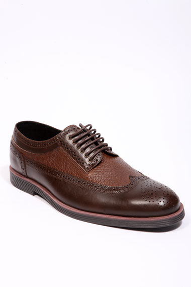 Swear Brown Leather Brogues