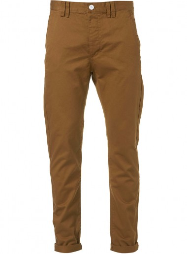 Topman Bronze Chino Trousers