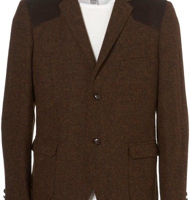 Topman Harris Tweed Blazer