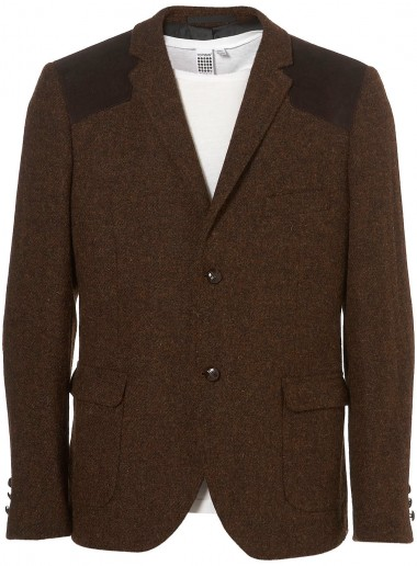 Topman Harris Tweed Blazer