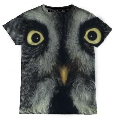 YourEyesLie Owl T Shirt