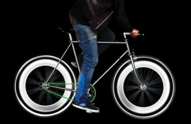 Mathmos White Bike Lights
