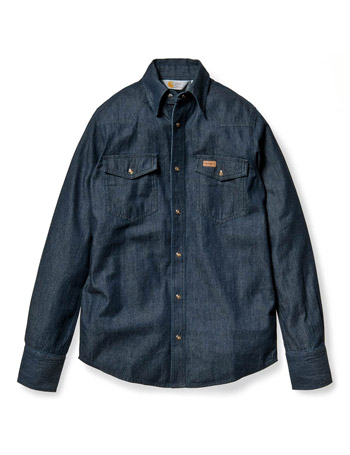 Carhartt Blue Denim Shirt