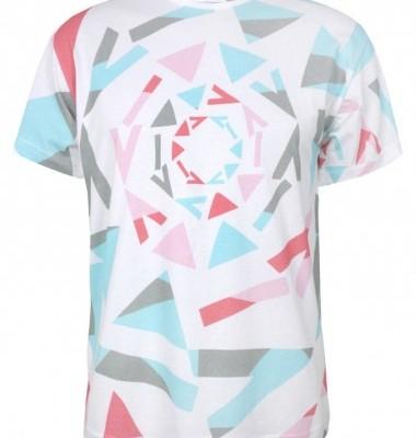 David David Print T Shirt