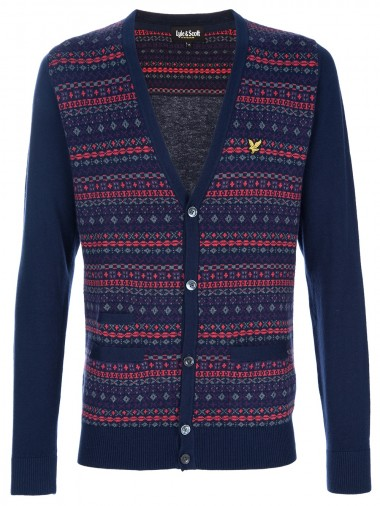 Lyle & Scott Fair Isle Cardigan