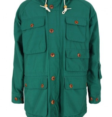 Lyle and Scott Mens Green Parka