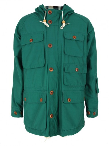 Lyle & Scott Green Parka