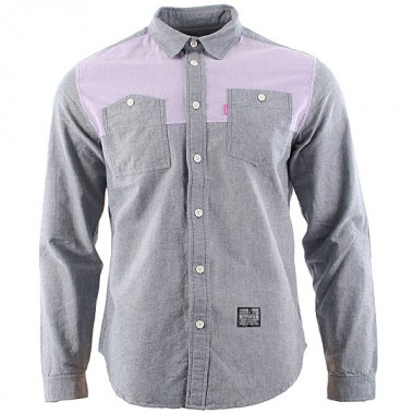 Mishka Mawson Two Tone Shirt